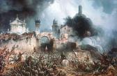 Foto: Die Schlacht von Solferino (Gemälde von Carlo Bossoli)